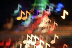 Fondo cobarde de la música Fotografía de archivo libre de regalías