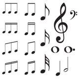Fondo cobarde de la música ilustración del vector