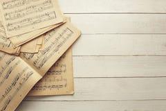 Fondo cobarde de la música Foto de archivo