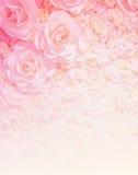 Fondo color de rosa artificial de la flor fotos de archivo libres de regalías