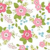 Fondo color de rosa de la elegancia lamentable stock de ilustración