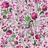 Fondo color de rosa de la obra clásica inconsútil Imagen de archivo libre de regalías