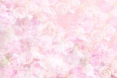 Fondo color de rosa del pastel Fotografía de archivo libre de regalías