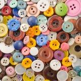 Fondo colorato dei bottoni Immagine Stock Libera da Diritti