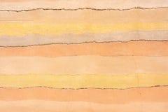 Fondo colorato del concret come simbolo delle sabbie del deserto fotografia stock