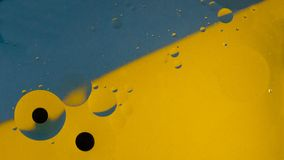 Fondo colorato del modello su acqua fotografia stock libera da diritti
