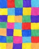 Fondo colorato dell'acquerello fotografia stock libera da diritti