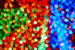fondo colorato delle luci Contesto astratto Fotografia Stock Libera da Diritti