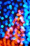 fondo colorato delle luci Contesto psichedelico astratto Fotografia Stock