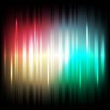 Fondo colorato di effetti della luce Vettore Immagine Stock Libera da Diritti