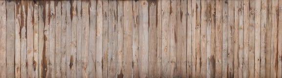 Fondo colorato di legno di struttura della parete della plancia di Brown fotografia stock