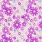 Fondo colorato floreale senza cuciture. Illustrazione Vettoriale