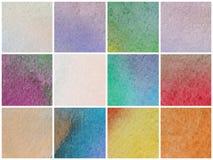 Fondo coloreado acuarela Imágenes de archivo libres de regalías