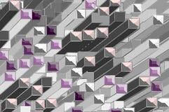 Fondo coloreado de colomnes Imagen de archivo libre de regalías