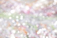 Fondo coloreado de la Navidad Foto de archivo libre de regalías