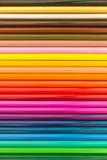 Fondo coloreado de los lápices imagen de archivo libre de regalías