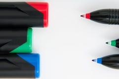 Fondo coloreado de los trazadores de líneas Imagen de archivo libre de regalías