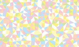 Fondo coloreado de los triángulos Imagenes de archivo