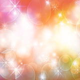 Fondo coloreado del día de fiesta Imágenes de archivo libres de regalías