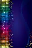 Fondo coloreado del vector Foto de archivo libre de regalías