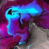 Fondo coloreado extracto similar a los colores mezclados stock de ilustración