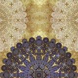 Fondo coloreado lamentable abstracto floral Imagenes de archivo