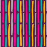Fondo coloreado lindo dibujado mano abstracta Modelo inconsútil con los elementos de la pintura en vector Foto de archivo libre de regalías
