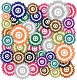 Fondo coloreado multi Foto de archivo