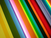 Fondo coloreado multi del modelo de la raya Imagen de archivo