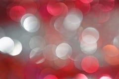 Fondo coloreado rojo y blanco abstracto de la celebración fotografía de archivo libre de regalías