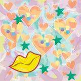Fondo colorido Imagen de archivo libre de regalías