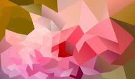 Fondo colorido abstracto con los triángulos de la pendiente libre illustration