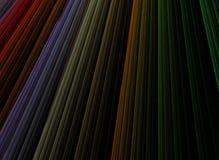 Fondo colorido abstracto de la raya Fotografía de archivo