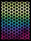 Fondo colorido abstracto de los círculos Ilustración del vector Fotografía de archivo libre de regalías
