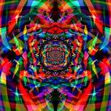 Fondo colorido abstracto del arte del fractal Imágenes de archivo libres de regalías