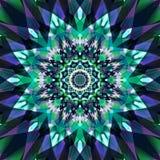Fondo colorido abstracto del arte del fractal Foto de archivo