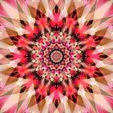 Fondo colorido abstracto del arte del fractal Imagenes de archivo