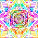 Fondo colorido abstracto del arte del fractal Imagen de archivo libre de regalías