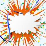 Fondo colorido abstracto del día de fiesta Imagenes de archivo