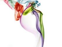 Fondo colorido abstracto del humo Foto de archivo libre de regalías
