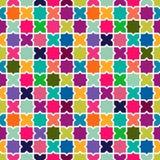 Fondo colorido abstracto del modelo de mosaico Imagen de archivo