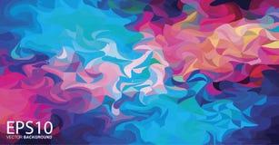 Fondo colorido abstracto del modelo libre illustration