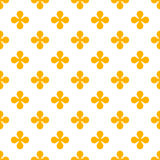 Fondo colorido abstracto del vector con las flores Imagen de archivo libre de regalías