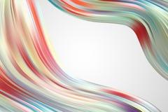 Fondo colorido abstracto del vector, onda líquida del flujo del color para el folleto del diseño, sitio web, aviador Líquido de l ilustración del vector