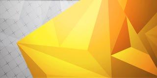 Fondo colorido abstracto, estilo polivinílico bajo geométrico Fotos de archivo