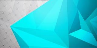 Fondo colorido abstracto, estilo polivinílico bajo geométrico Imagen de archivo