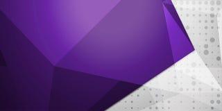 Fondo colorido abstracto, estilo polivinílico bajo geométrico Imagenes de archivo