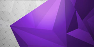 Fondo colorido abstracto, estilo polivinílico bajo geométrico Imagen de archivo libre de regalías