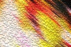 Fondo colorido borroso brillante abstracto de las burbujas, colores vivos fotos de archivo