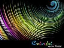 Fondo colorido brillante abstracto stock de ilustración